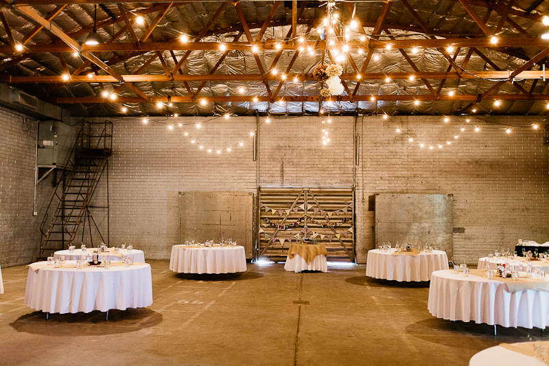 The Icehouse Raw Unique Vintage Rustic Urban Industrial Historic Phoenix Wedding and Event Venue